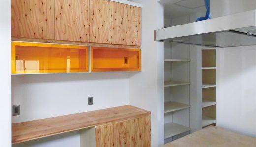 新築戸建てのキッチン収納