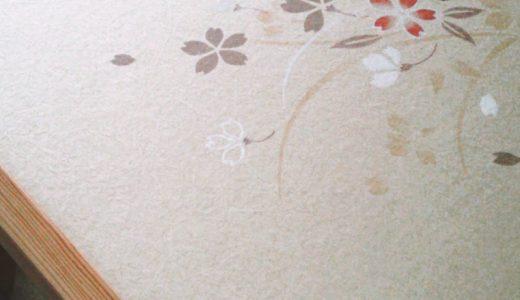 ふすま紙とフレーム